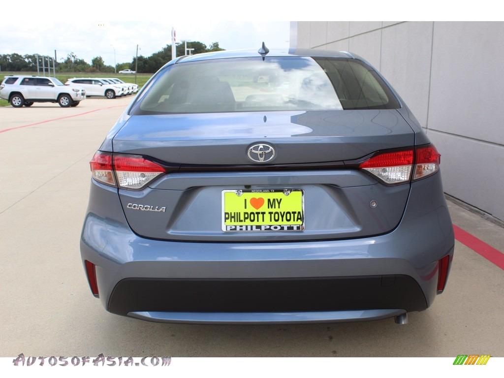 2021 Corolla L - Celestite Gray Metallic / Light Gray/Moonstone photo #7