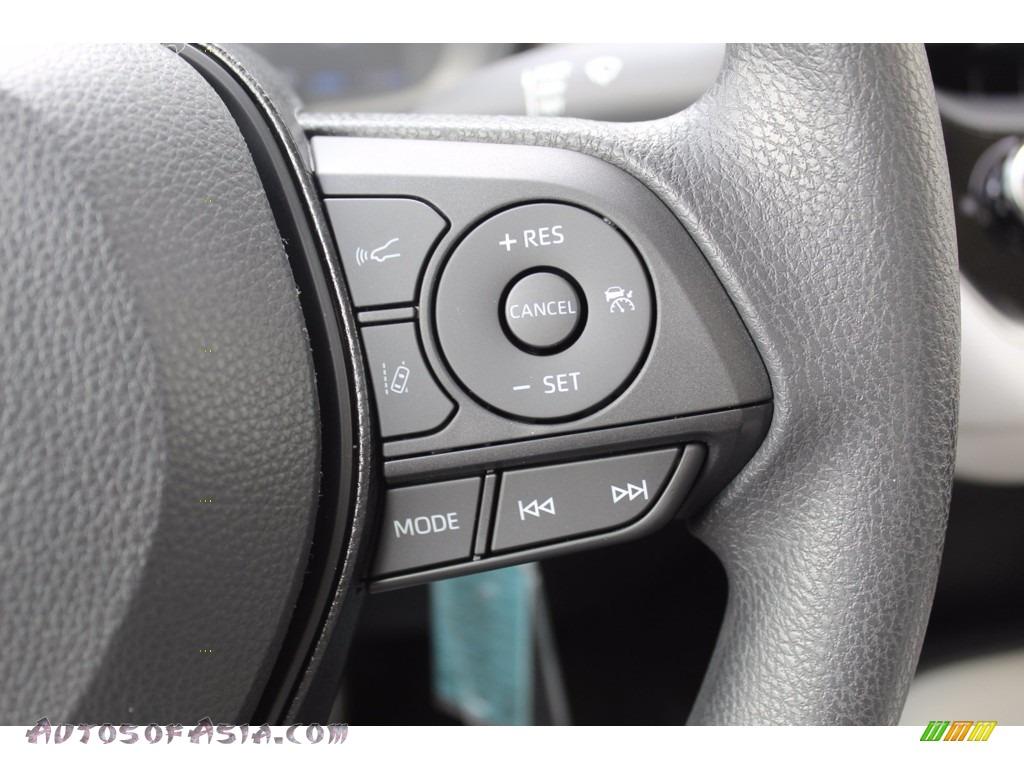 2021 Corolla L - Celestite Gray Metallic / Light Gray/Moonstone photo #12