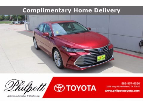 Ruby Flare Pearl 2020 Toyota Avalon Limited