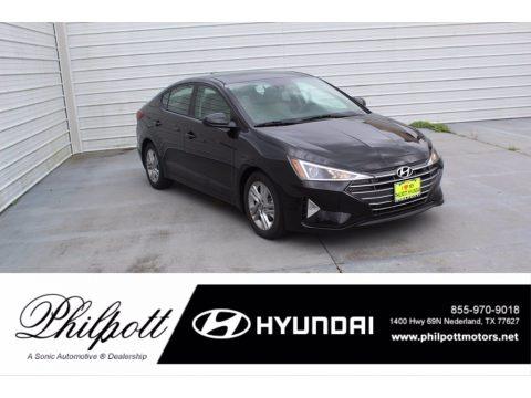 Phantom Black 2020 Hyundai Elantra Value Edition