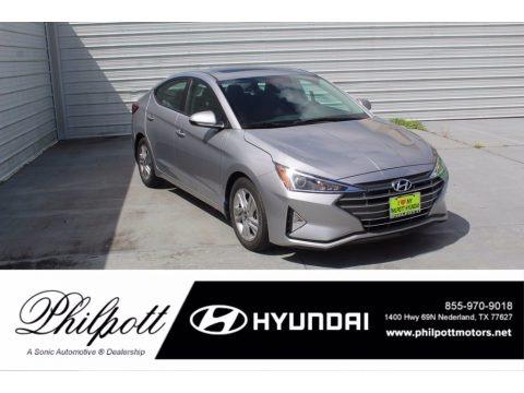 Stellar Silver 2020 Hyundai Elantra Value Edition