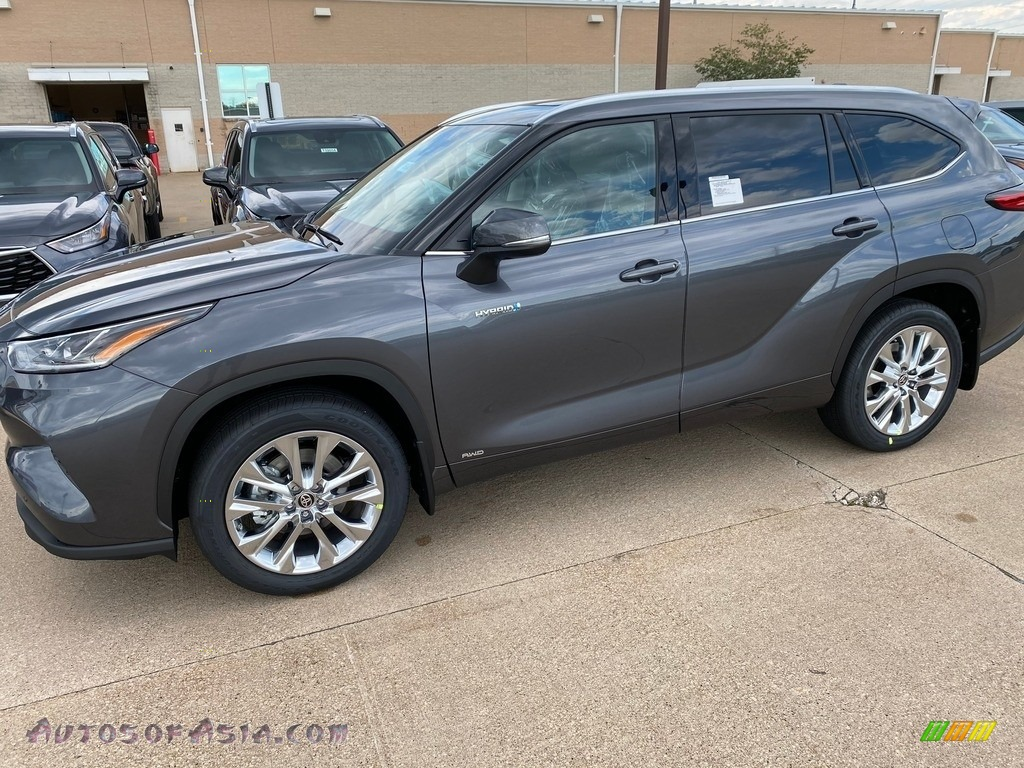 2020 Highlander Hybrid Limited AWD - Magnetic Gray Metallic / Graphite photo #1
