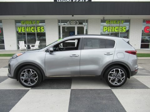 Steel Gray 2020 Kia Sportage SX Turbo