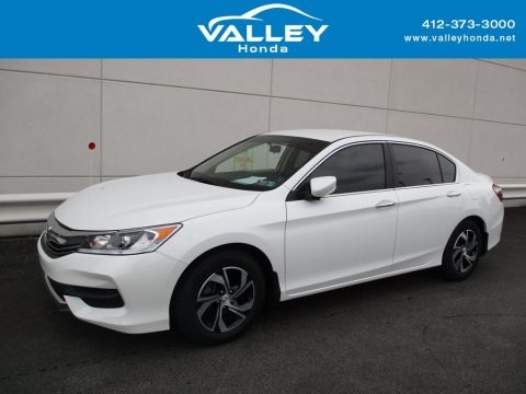 White Orchid Pearl 2017 Honda Accord LX Sedan