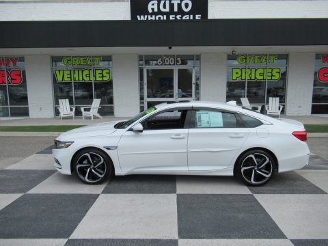 Platinum White Pearl 2020 Honda Accord Sport Sedan
