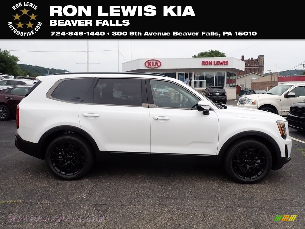 2021 Telluride SX AWD - Snow White Pearl / Black photo #1