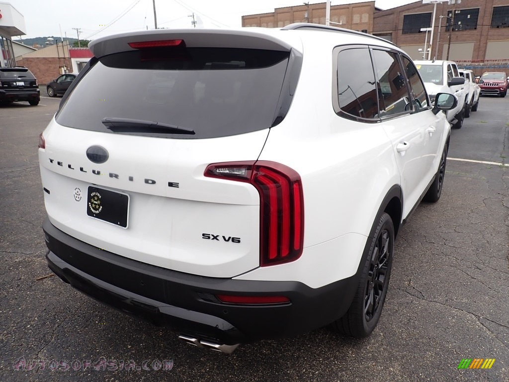 2021 Telluride SX AWD - Snow White Pearl / Black photo #2