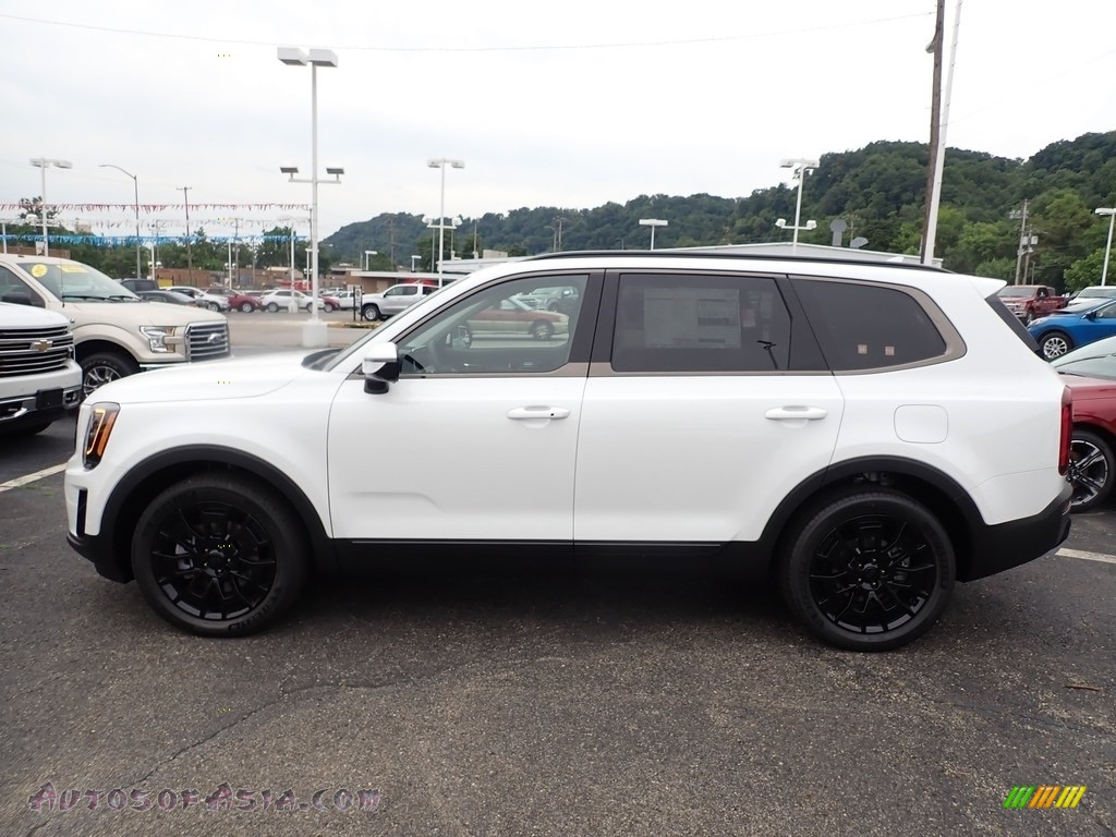 2021 Telluride SX AWD - Snow White Pearl / Black photo #6