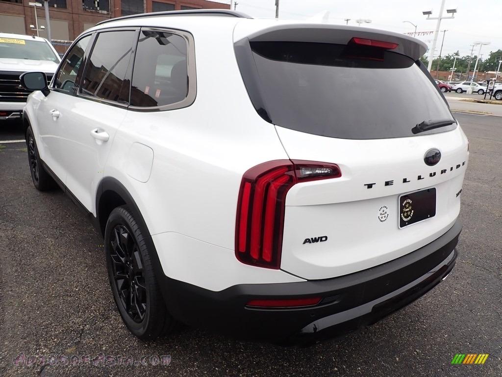 2021 Telluride SX AWD - Snow White Pearl / Black photo #7