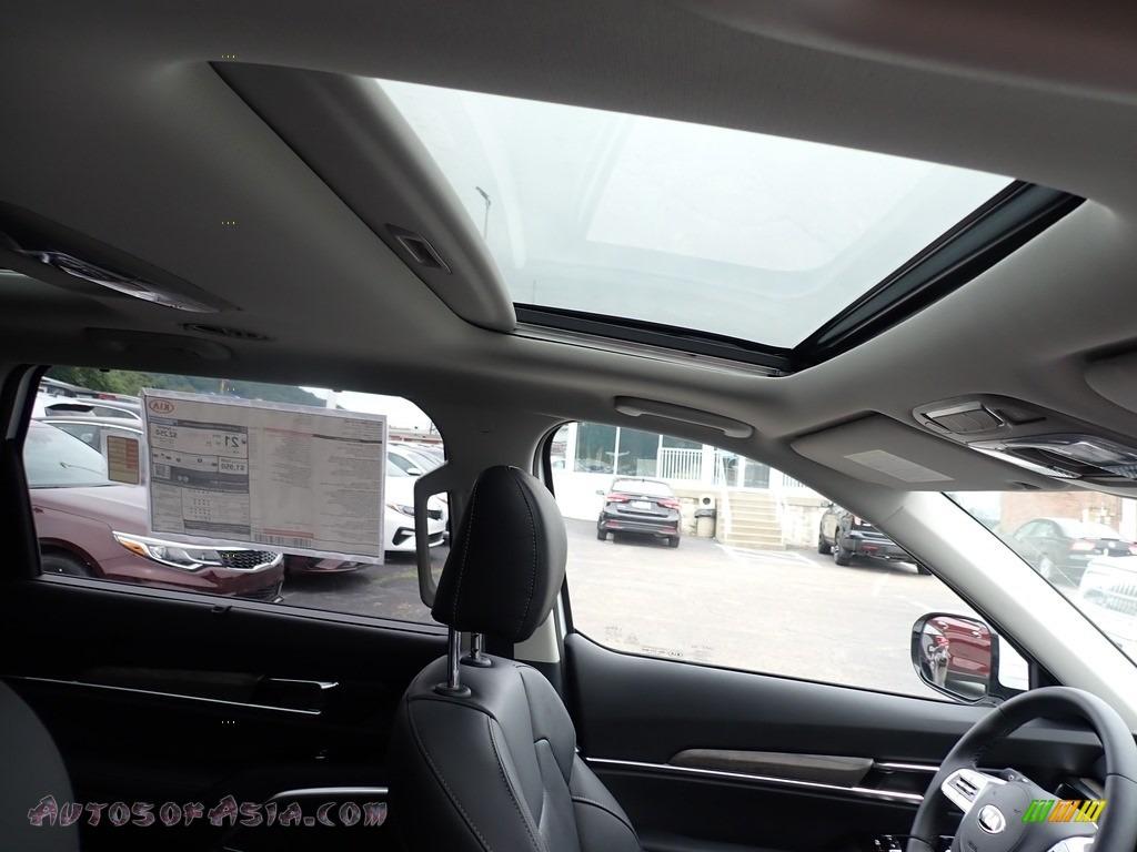 2021 Telluride SX AWD - Snow White Pearl / Black photo #12