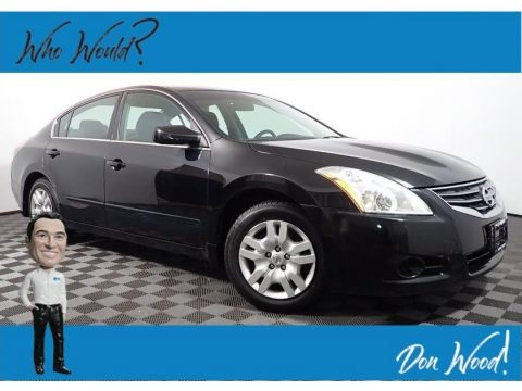 Super Black 2012 Nissan Altima 2.5 S