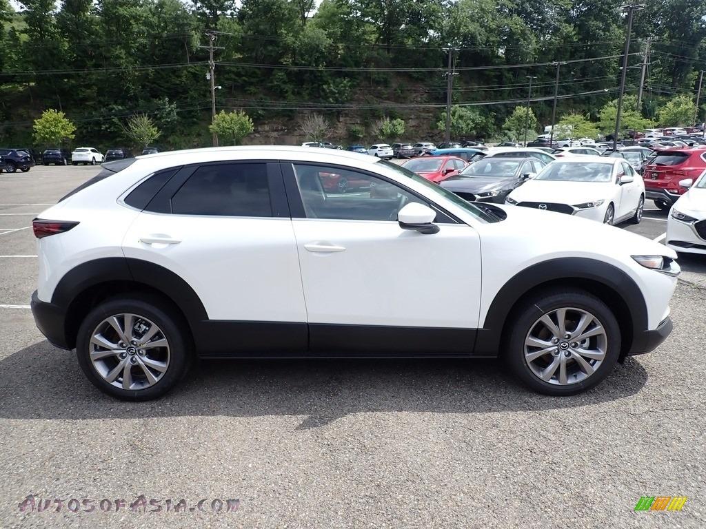 2020 CX-30 Select AWD - Snowflake White Pearl Mica / Black photo #1