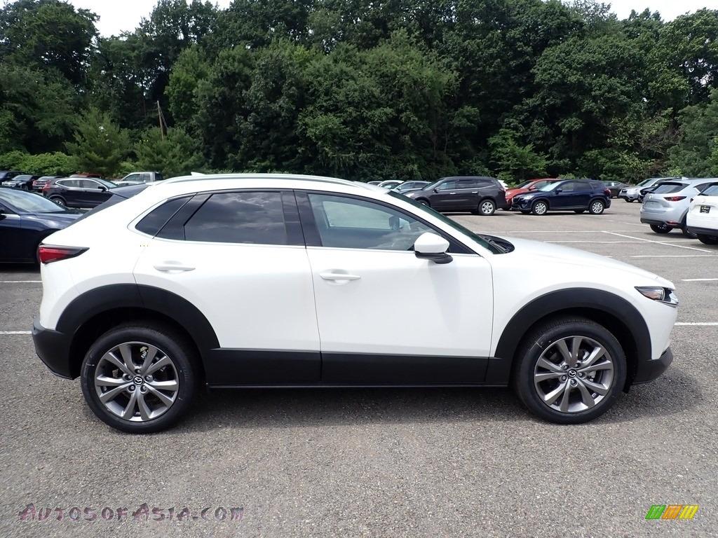 2020 CX-30 Preferred AWD - Snowflake White Pearl Mica / White photo #1