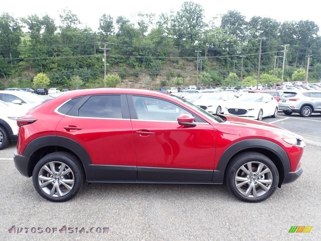 2020 CX-30 Select AWD - Soul Red Crystal Metallic / Black photo #1