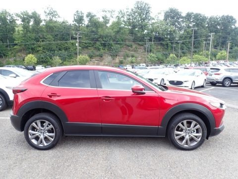 Soul Red Crystal Metallic 2020 Mazda CX-30 Select AWD