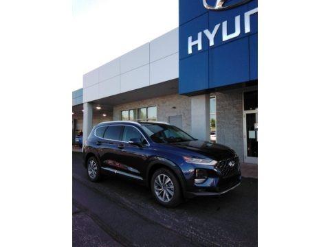 Stormy Sea 2020 Hyundai Santa Fe Limited AWD
