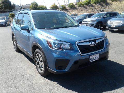Horizon Blue Pearl 2019 Subaru Forester 2.5i Premium