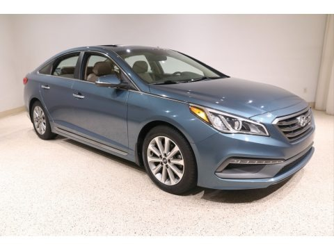 Nouveau Blue 2017 Hyundai Sonata Limited