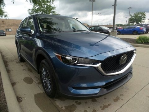Eternal Blue Mica 2020 Mazda CX-5 Sport AWD