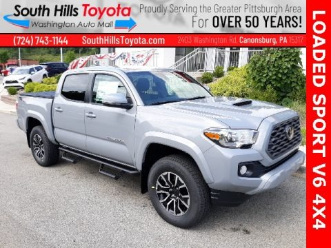 Cement 2020 Toyota Tacoma TRD Sport Double Cab 4x4