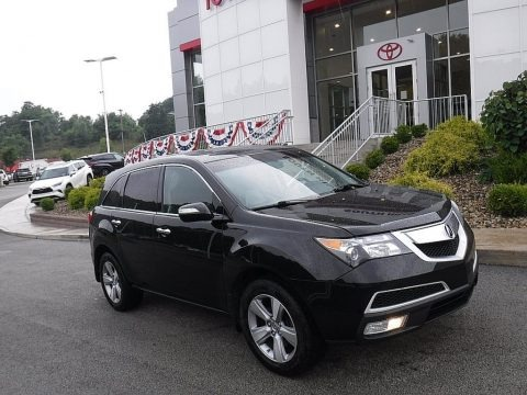 Crystal Black Pearl 2011 Acura MDX Technology
