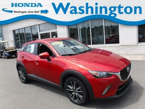 Soul Red Metallic 2017 Mazda CX-3 Touring AWD