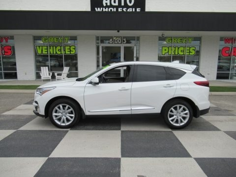 Platinum White Pearl 2020 Acura RDX FWD