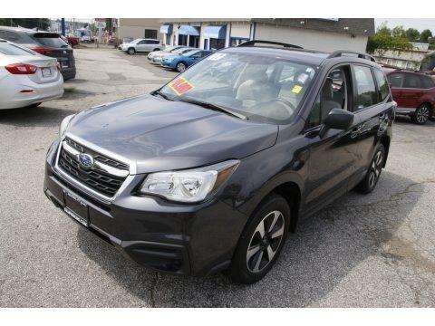 Dark Gray Metallic 2017 Subaru Forester 2.5i