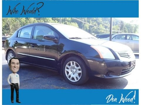 Super Black 2012 Nissan Sentra 2.0 S