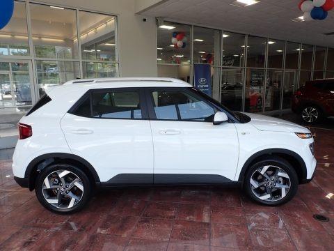 Ceramic White 2020 Hyundai Venue SEL