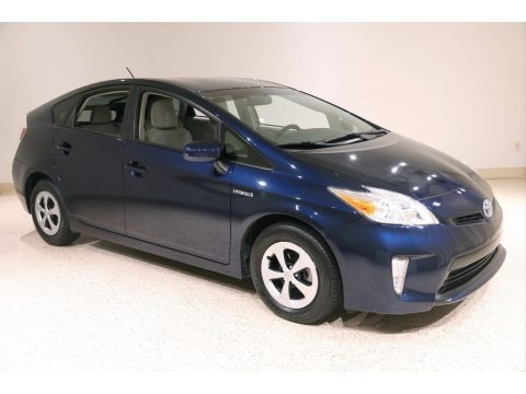 Nautical Blue Metallic 2012 Toyota Prius 3rd Gen Two Hybrid
