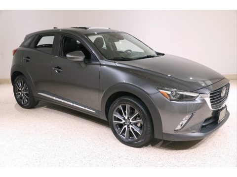 Machine Gray Metallic 2018 Mazda CX-3 Grand Touring AWD
