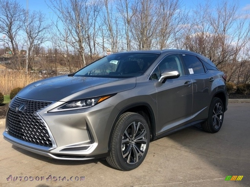 2020 RX 350 AWD - Atomic Silver / Black photo #1