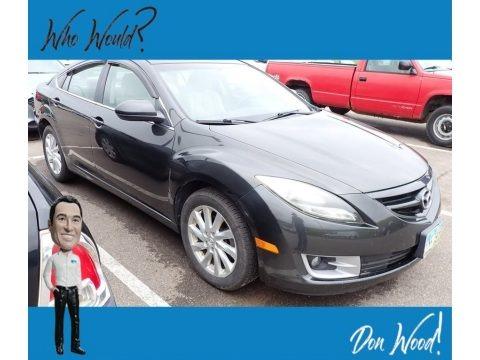 Polished Slate 2012 Mazda MAZDA6 i Touring Sedan