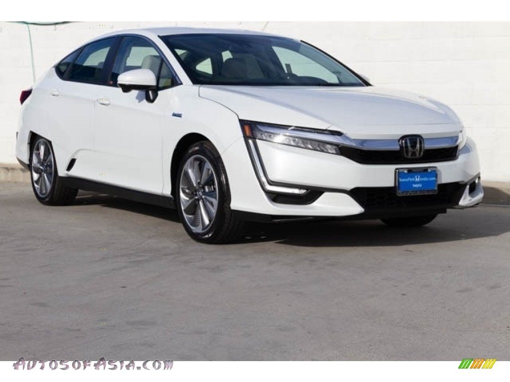 2020 Clarity Plug In Hybrid - Platinum White Pearl / Beige photo #1