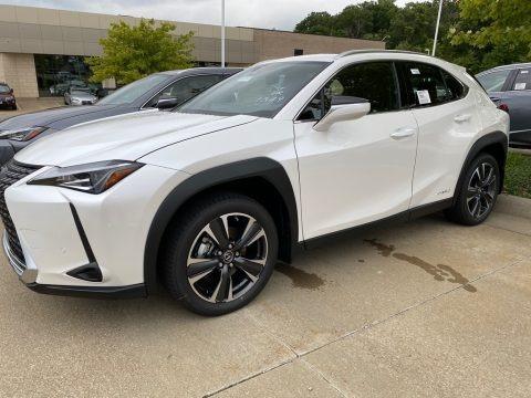 Eminent White Pearl 2020 Lexus UX 250h AWD