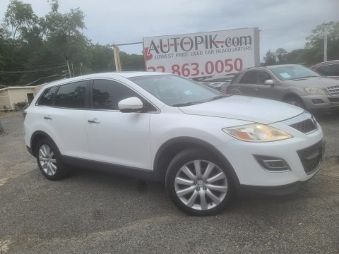 Crystal White Pearl Mica 2010 Mazda CX-9 Sport AWD