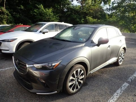 Machine Gray Metallic 2019 Mazda CX-3 Grand Touring AWD