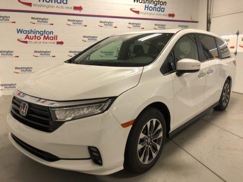 Platinum White Pearl 2021 Honda Odyssey EX-L