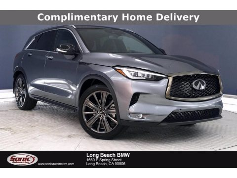 Graphite Shadow 2020 Infiniti QX50 Essential