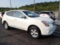Nissan Rogue S AWD Pearl White photo #4