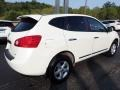 Nissan Rogue S AWD Pearl White photo #9