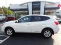 Nissan Rogue S AWD Pearl White photo #13