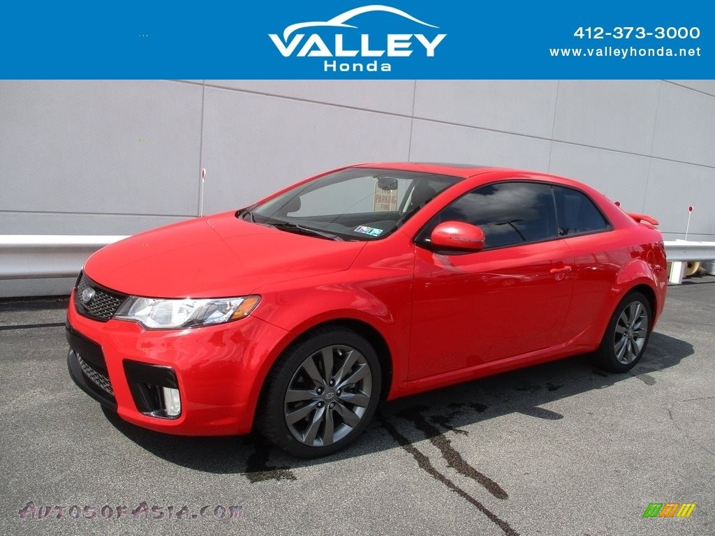 2011 Forte Koup SX - Racing Red / Black Sport photo #1
