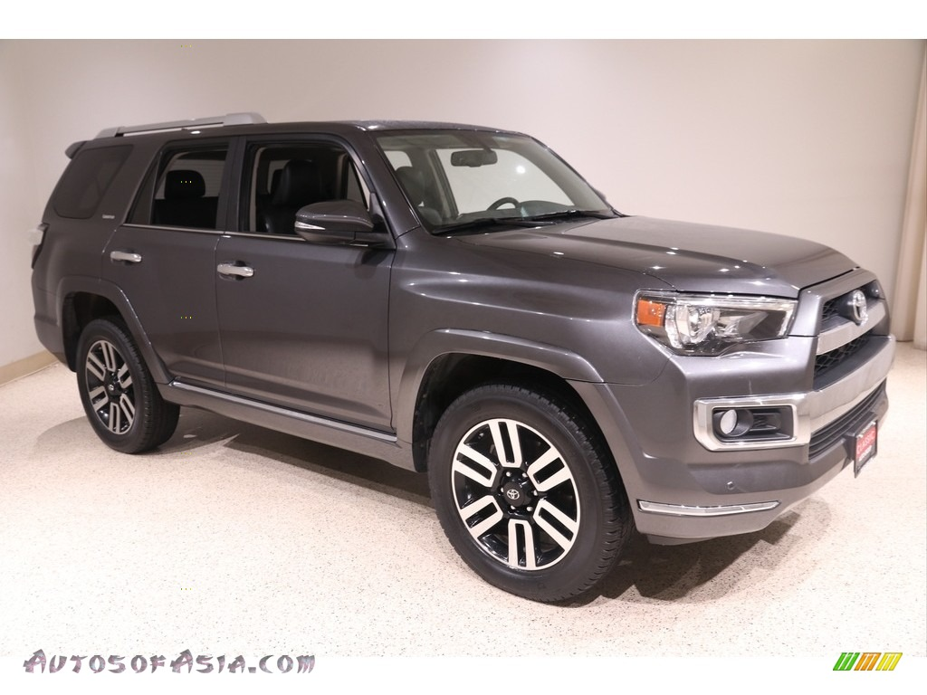 2017 4Runner Limited 4x4 - Magnetic Gray Metallic / Black photo #1