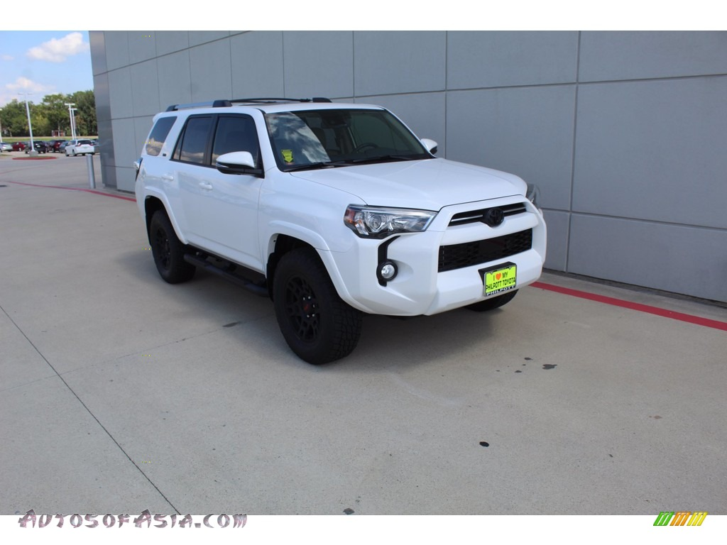 2020 4Runner SR5 Premium 4x4 - Super White / Sand Beige photo #2