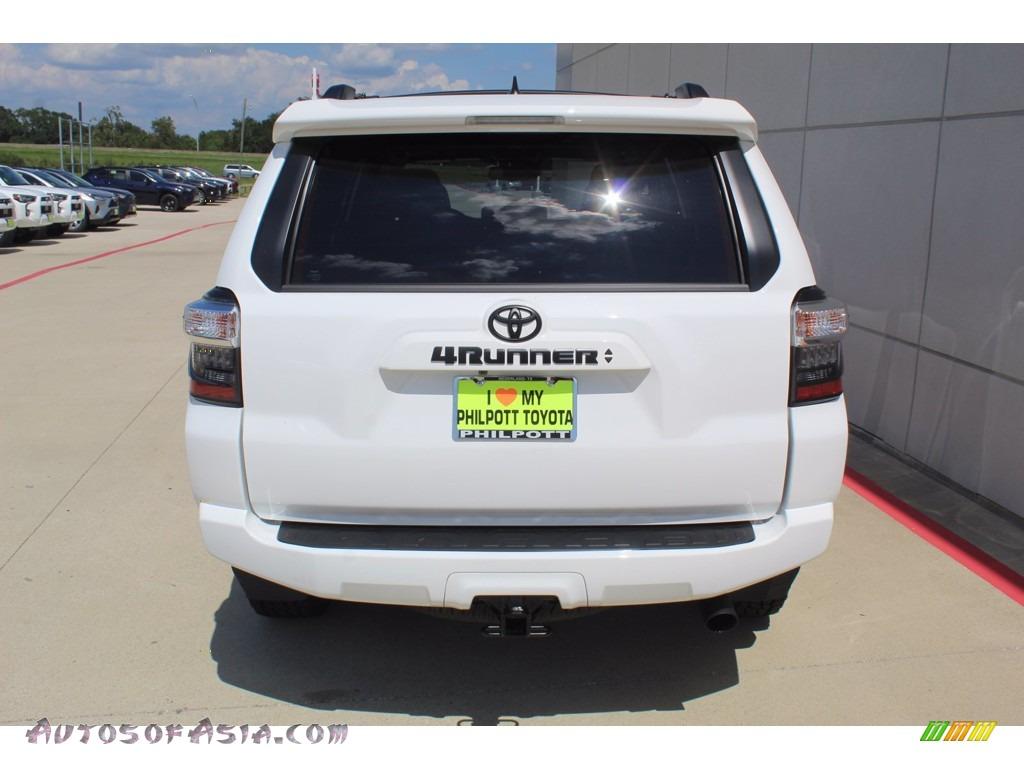 2020 4Runner SR5 Premium 4x4 - Super White / Sand Beige photo #7