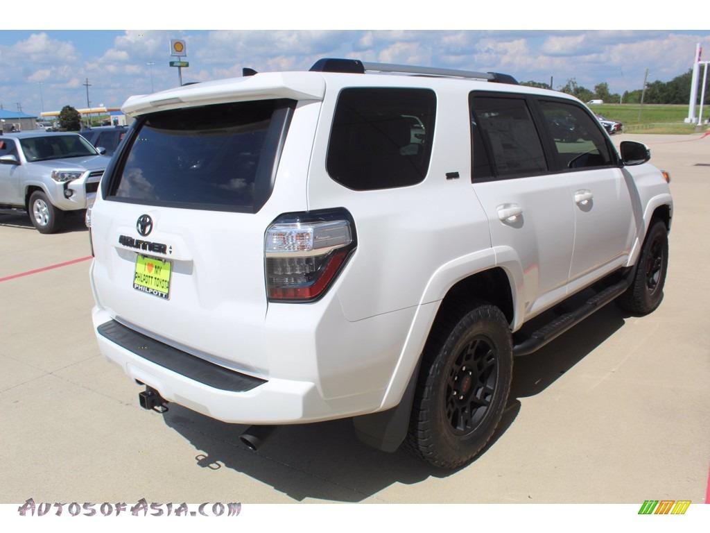 2020 4Runner SR5 Premium 4x4 - Super White / Sand Beige photo #8