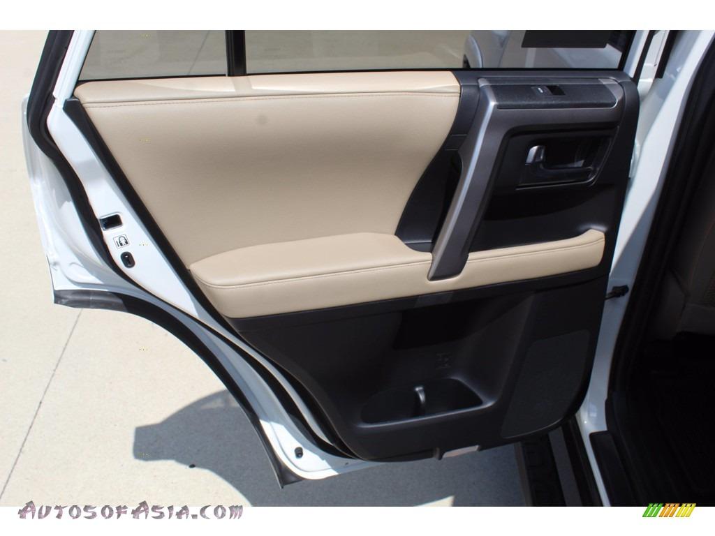 2020 4Runner SR5 Premium 4x4 - Super White / Sand Beige photo #20