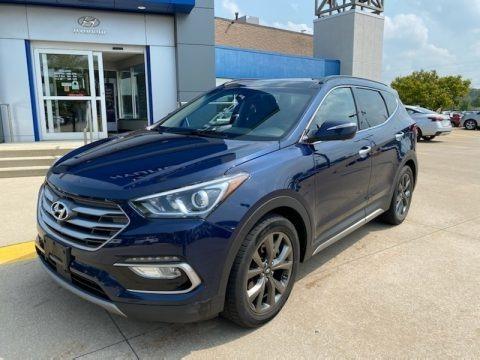 Nightfall Blue 2017 Hyundai Santa Fe Sport 2.0T Ulitimate AWD